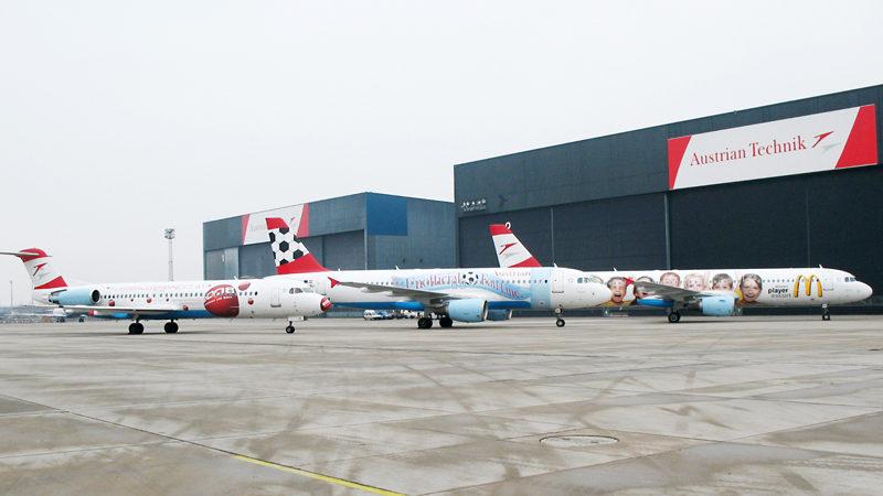 Flugzeug Werbung - Verkehrsmedien Werbung OOH