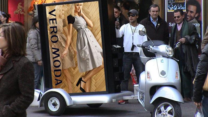 mobile werbung_scooter_veromoda