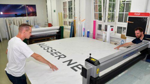 Digitaldruck, Plottproduktion | POS Werbeproduktion BERLIN